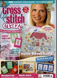 Cross Stitch Crazy Magazine Issue 98 May 2007