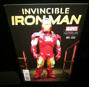 ⚡Invincible Iron Man #1N VF+ ⚡Cosplay Var.⚡(Marvel Comics,2015)⚡Doctor Doom!