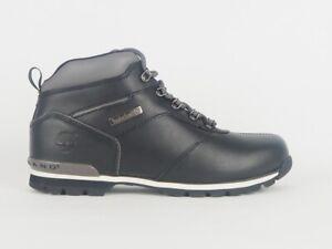 Mens Timberland Euro Hiker 6669A Black Leather Hiking Chukka Boots UK 11.5