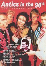Adam Ant / Adam And The Ants Antics in the 90s  Colour Fanzine No 4