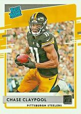 CHASE CLAYPOOL *SP RATED ROOKIE RC* 2020 PANINI DONRUSS FOOTBALL NFL STEELERS WR