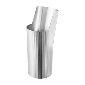 BNIB New Georg Jensen URKIOLA Vase Tall Mirror Polished Stainless Steel RRP £160