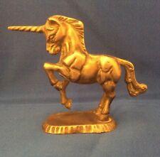 Beautiful Solid Brass Unicorn Figure