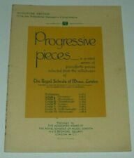 PROGRESSIVE PIANOFORTE PIECES ~ ROYAL SCHOOL OF MUSIC MINIATURE EDITION