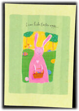 Vintage Hallmark I Can Hide Easter Eggs Can't Hide How Much I Love You Card