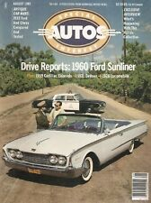 SPECIAL-INTEREST AUTOS 1985 AUG #88 - SUNLINER, ELDO,'60 Ford Sunliner