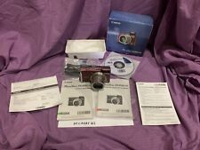 Canon Powershot SX200 IS 12.1MP Digital Camera RED with Box, Manual, Cable, Disc