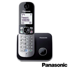PANASONIC TG6811 SINGLE DECT CORDLESS TELEPHONE OFFICE - BLACK - KX-TG6811EB