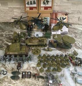 Huge Lot Dust Tactics Warfare Miniature War Games figures Tanks SSU Army set