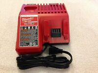 New Milwaukee 48-59-1812 12V & 18V M12 M18 Multi Voltage Battery Charger Li-Ion