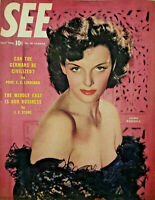 See May 1946 Vtg Magazine Jane Russell Cover - Germans - Middle East