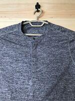 Lululemon Surge Mens Henley Long Sleeve Shirt Size Small *Free Shipping*