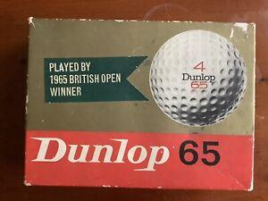 Dunlop 65 Vintage Golf Balls
