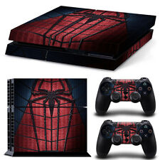 PS4 Skin & Controllers Skin Vinyl Sticker For PlayStation 4 Spider Man Chest