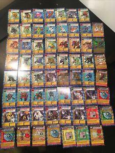 COMPLETE 1999 Bandai 1st Edition Digimon Starter Card Set ST-01 thru ST-62 NM/LP