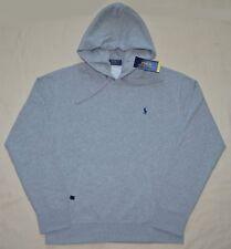 Neuf TAILLE M Polo Ralph Lauren Hommes Pull Polaire Sweat-Shirt à Capuche  Gris 5eb280b6af4a