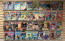 40 assorted ISSUES of NEW MUTANTS #'s 2 to #42 comics...NM copies...ONLY $19.95!
