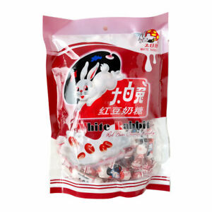 WHITE RABBIT CREAMY CANDY SWEETS - RED BEAN FLAVOUR - 200G