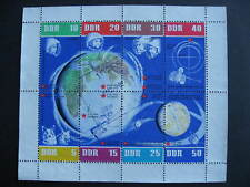 Germany DDR space souvenir sheet Sc 634 used but has a modern Canada cancel ?
