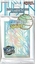 Yu-Gi-Oh! 50 Protèges Cartes - Pochettes - Sleeves SMALL KC - Kaiba Corporation