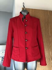 H&M Ladies Red Blazer Jacket Size Euro 36 Uk size 8