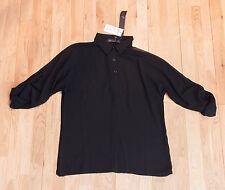 Zanzea Black Collared Shirt - Size Small - BNWT