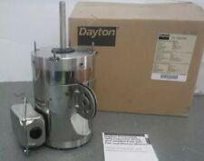 DAYTON 12V774 Washdown Motor, PSC, TEAO, 1/2 HP, 1075 rpm 115v