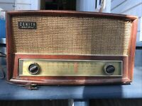 Zenith Radio G730 Tube Radio  AM FM w/Phono Jack - Works