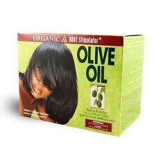 Organic Olive Oil Root Relaxer Normal Haarglättung mit deutsche Anleitung OSR