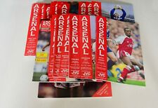 More details for arsenal home programmes complete 91/92 (x26) (d1/fac/lc+friendly+pre season