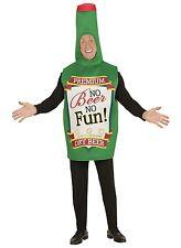 Costume Carnevale Adulto Bottiglia Di Birra No Beer No Fun PS 00128