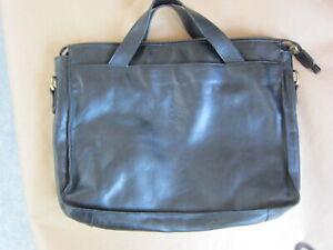 Il Bisonte By Wanna Di Filippo Black Leather Messenger Bag