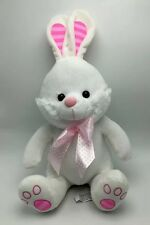 Bunny Rabbit Plush Large Soft White 15 inch Stuffed Animal Toy New