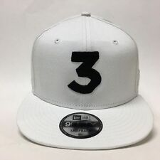 Chance The Rapper 3 New Era Cap Snapback Hat (White) 100% 9fifty ON HAND!