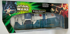 Star Wars POTJ B-Wing Fighter Ship With Sullustan Pilot 2001 Complete Box Rare
