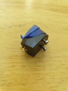 Ortofon 2M blue cartridge with stylus and fixing screws