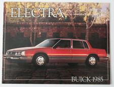 BUICK ELECTRA 1985 dealer brochure - English - Canada - ST501001117