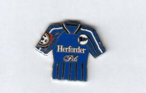 Arminia Bielefeld Jersey Pin With Herforder Pils Blue