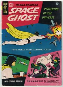 Space Ghost (Gold Key) #1 VG; Gold Key | Hanna Barbera 1967 silver age