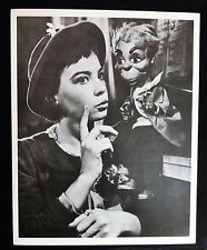 """""""LESLIE CARON"""" & her friend """"CARROT TOP"""" from the movie LILI - movie photo still"""