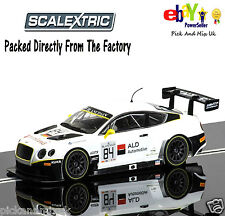NEW IN Scalextric Slot Car Bentley Continental GT3 - Blancpain Series 2015 C3714