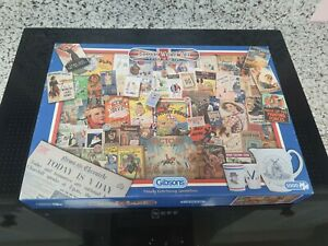Gibson puzzle Second World War Victory in Britain 1000 pieces