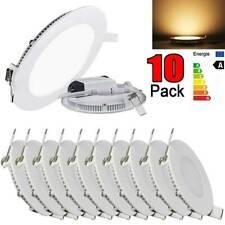 Epistar Recessed LED Panel Light 4W 10Pack Ultra Slim Ceiling Down Lights Lamp