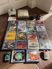 Sega Dreamcast Konsole PAL mit 19 Spiele! voll eingerichtet-getestet working