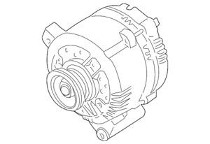 Genuine Ford Alternator F4PZ-10346-BRM2