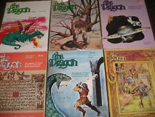 DRAGON MAGAZINE COMPLETE 1-359 2 3 4 5 6 7 8 9 CD's Maps, Games A+++ condition