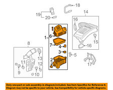 GM OEM Air Cleaner Intake-Filter Box Housing 23262740