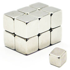 30pcs 10mm x 10mm x 10mm Strong Cuboid DIY Neo Magnetic Neodymium Cube Magnets