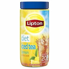 Lipton Iced Tea Mix, Diet Lemon 20 qt