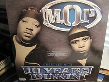 """M.O.P. Greatest Hits """"10 Years and Gunnin"""" Double Lp Near Mint a"""